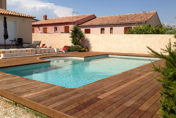 Top Pose De Terrasse En Bois Montpellier Du With Comment Poser Terrasse Bois .