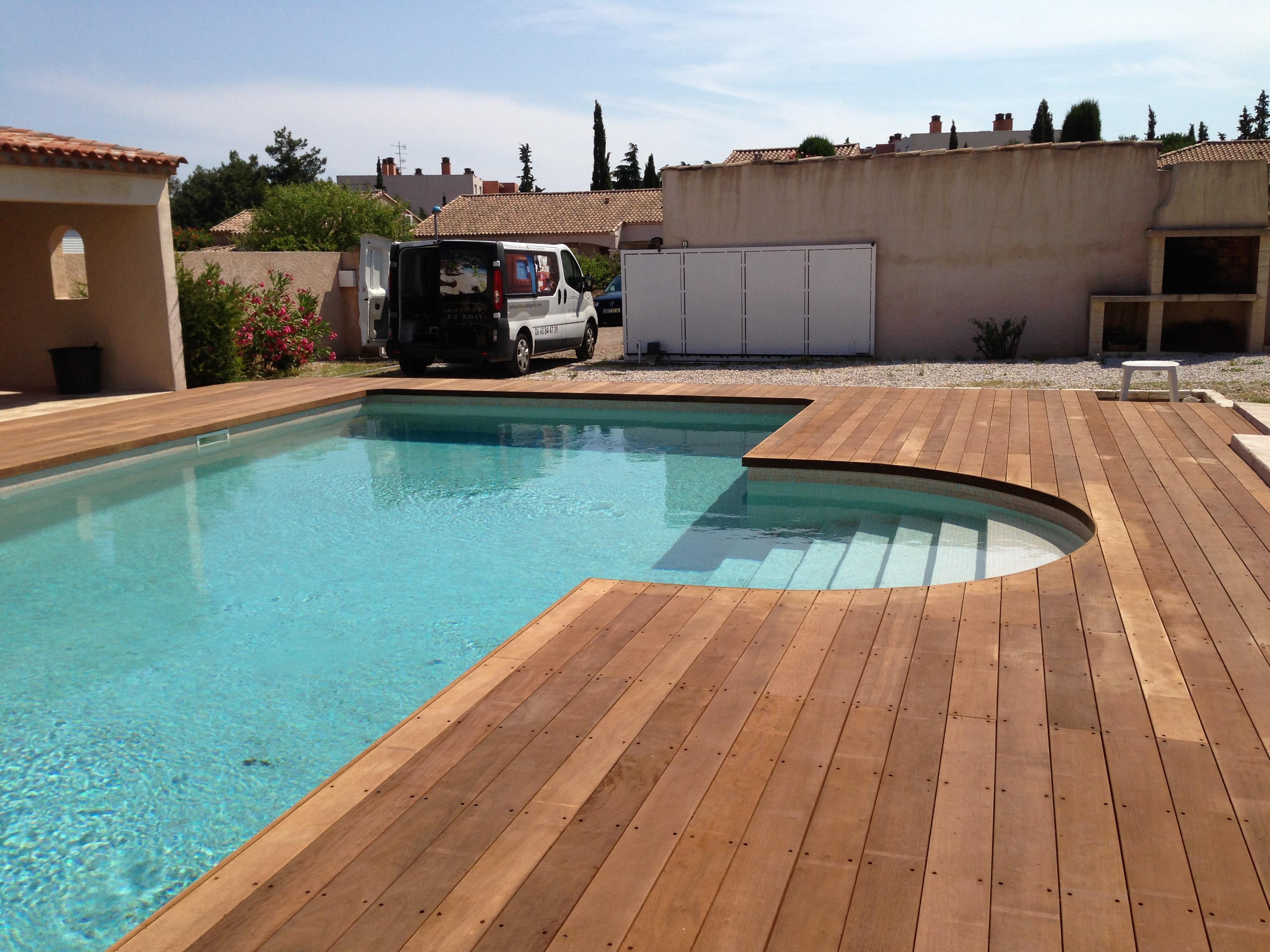 Autour du bois : pose de terrasse en bois montpellier Terrasse ...